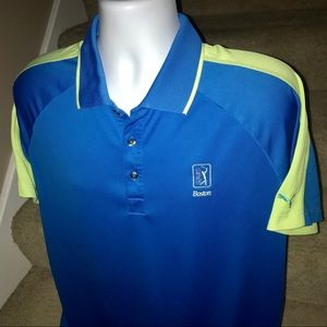 *Puma* TPC Boston bright men's golf polo shirt XL